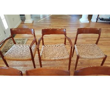 Vamo Sodenburg Teakwood Chairs