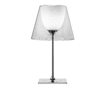Philippe Starck Flos Ktribe T2 Table Lamp w/ Clear Shade