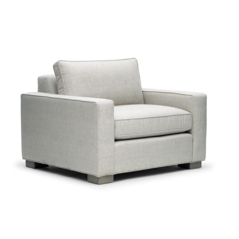 Mitchell Gold + Bob Williams Carson Chair in Silver-2