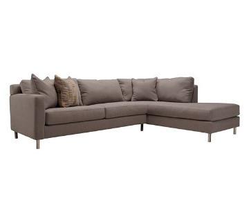 Raymour & Flanigan Larson LAF Sectional Sofa