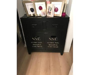 NYC Wood Accent Chest