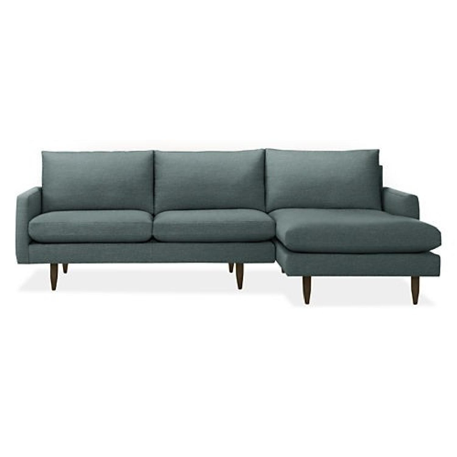 Room & Board Jasper 2-Piece Sectional Sofa