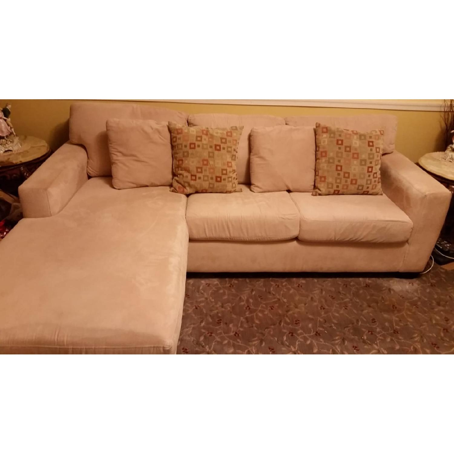 Macy's Portofino Queen Sleeper Sectional Sofa - image-1