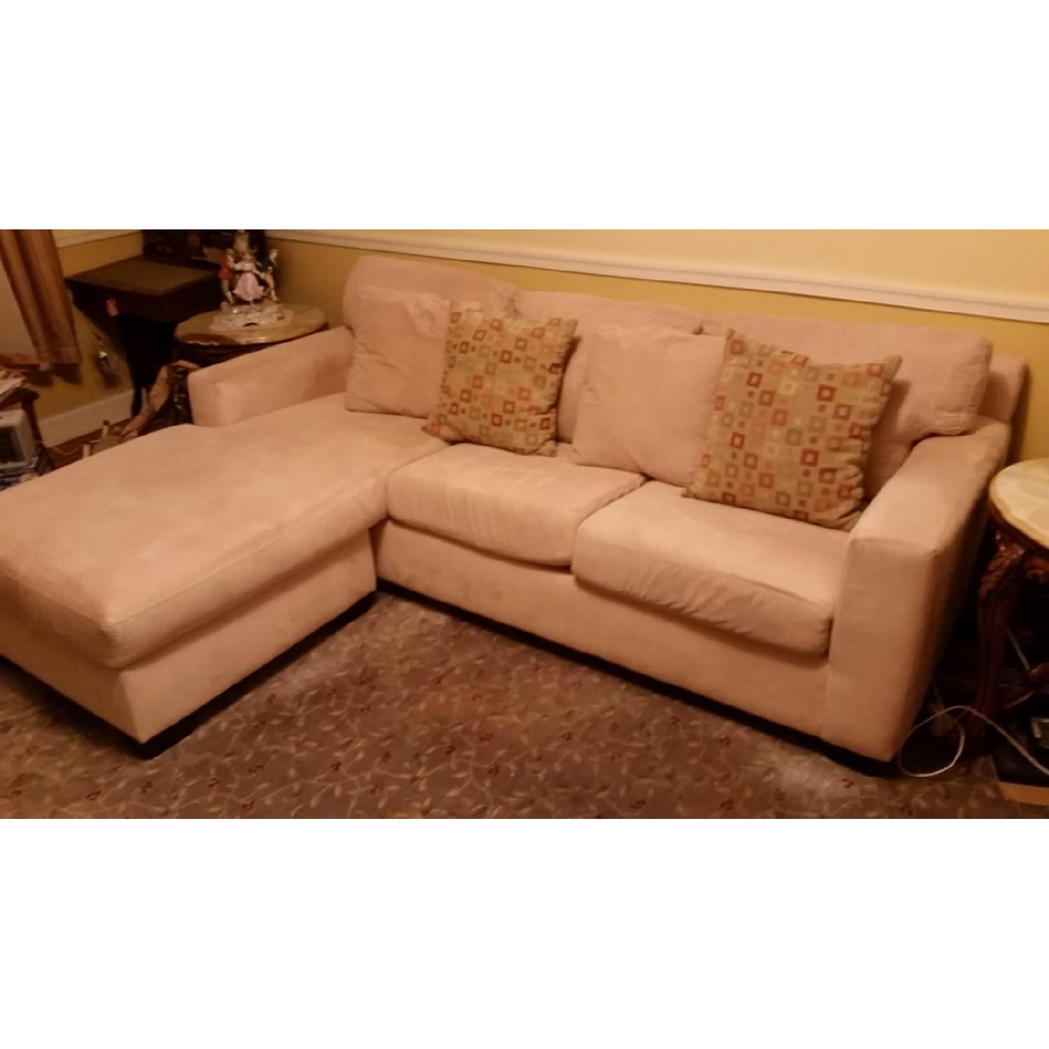 Macy's Portofino Queen Sleeper Sectional Sofa - image-2