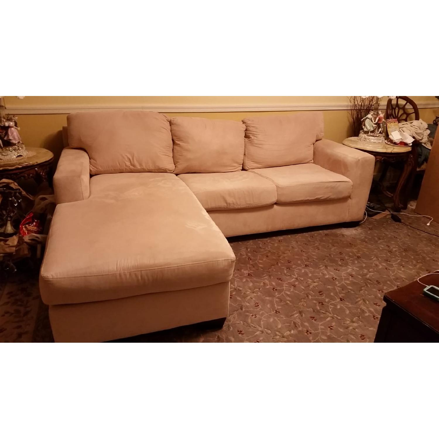 Macy's Portofino Queen Sleeper Sectional Sofa - image-3