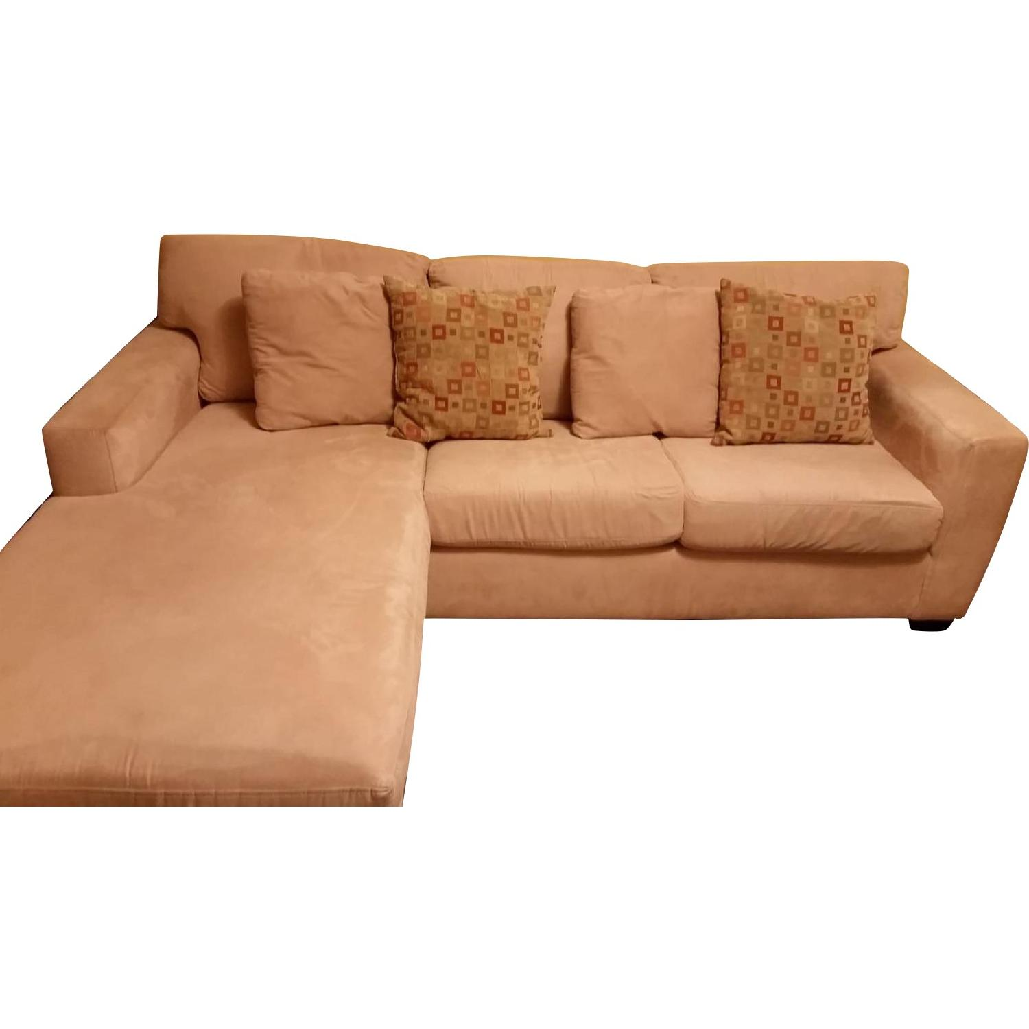 Macy's Portofino Queen Sleeper Sectional Sofa - image-0