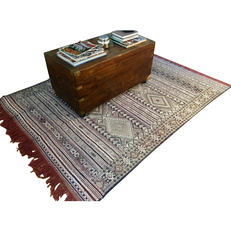Moroccan Hand-Woven Rug