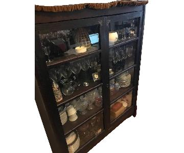 Antique China Cabinet w/ Doors