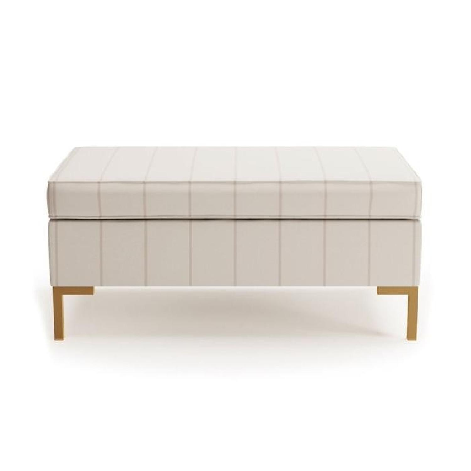 The Inside Classic Cocktail Ottoman/Bench/Coffee Table