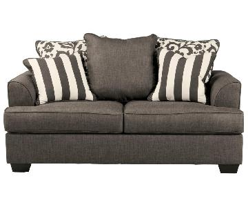 Ashley Levon Charcoal Loveseat