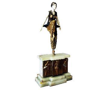 Demetre Chiparus: Oriental Dancer Art Deco Bronze c.1925