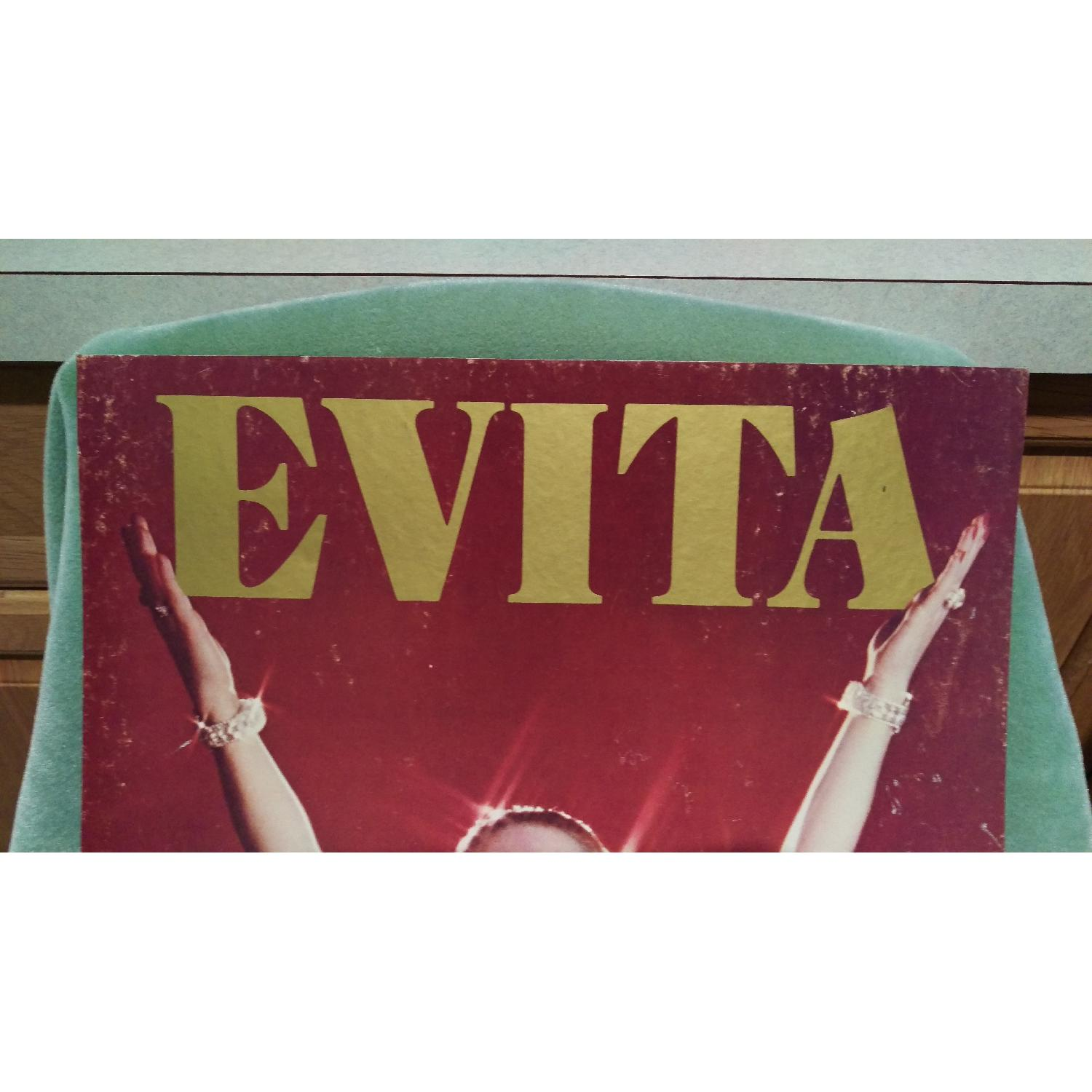 1970s Evita Patti Lupone Broadway Theater Board Sign-5