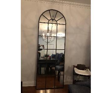 Restoration Hardware Palladian Leaner Mirror