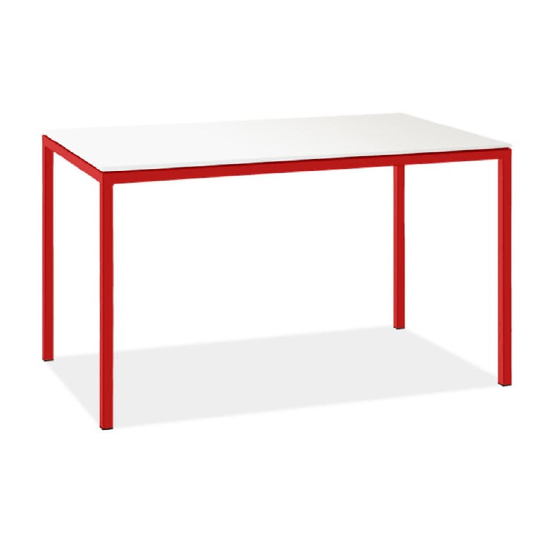 Room & Board Counter Table w/ Marble Quartz Composite Top