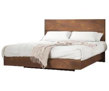 Union Rustic Queen Lockheart Platform Bed