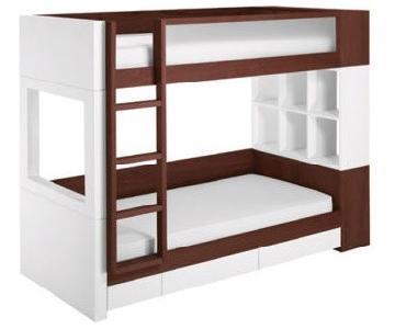 NurseryWorks Duet Bunk Bed w/ Trundle & Storage