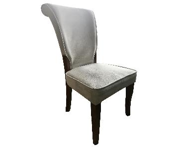 West Elm Suede Dining Chairs