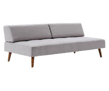 West Elm Retro Tillary Sofa w/ 2 Cushions