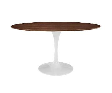 LexMod Oval Dining Table w/ Tulip Base