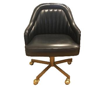 Vintage Vinyl Dining/Office Chairs