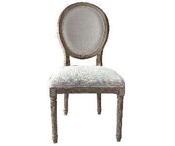 Restoration Hardware Vintage French Round Chairs