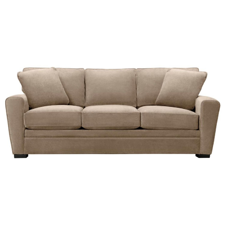 Raymour & Flanigan Artemis Microsuede Sofa