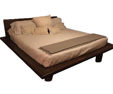 Custom King Platform Bed