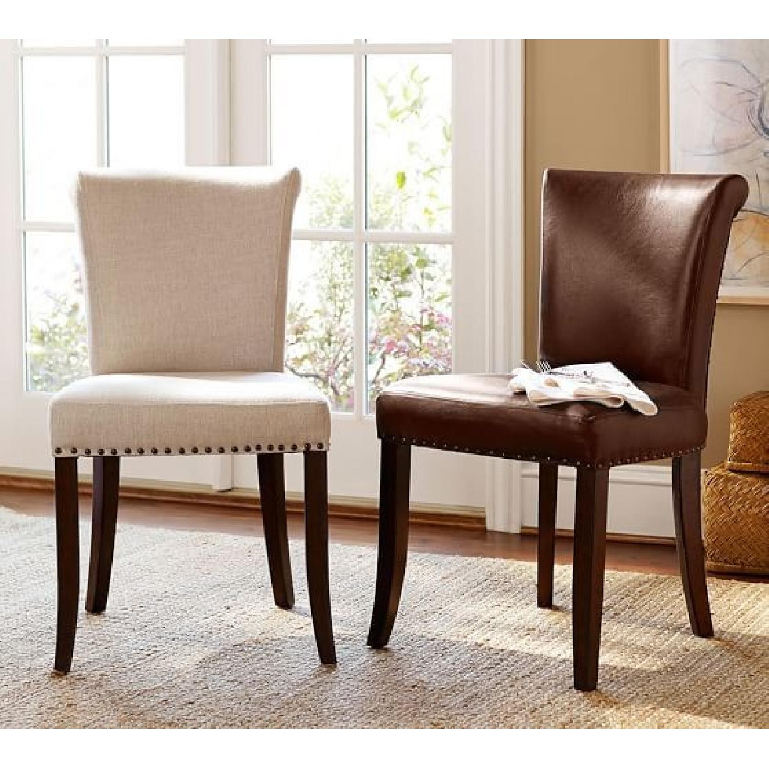 Pottery Barn Dining Furniture Sale: 25% Off Dining Tables ... |Delaney Dining Chair Pottery Barn