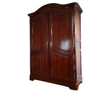 Grange Cherry Wood Entertainment Armoire