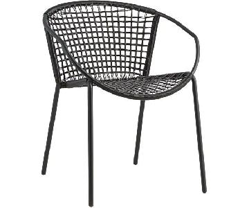 CB2 Black Accent/Dining Chair