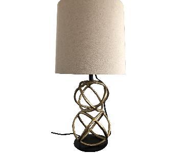 West Elm Geo Table Lamp
