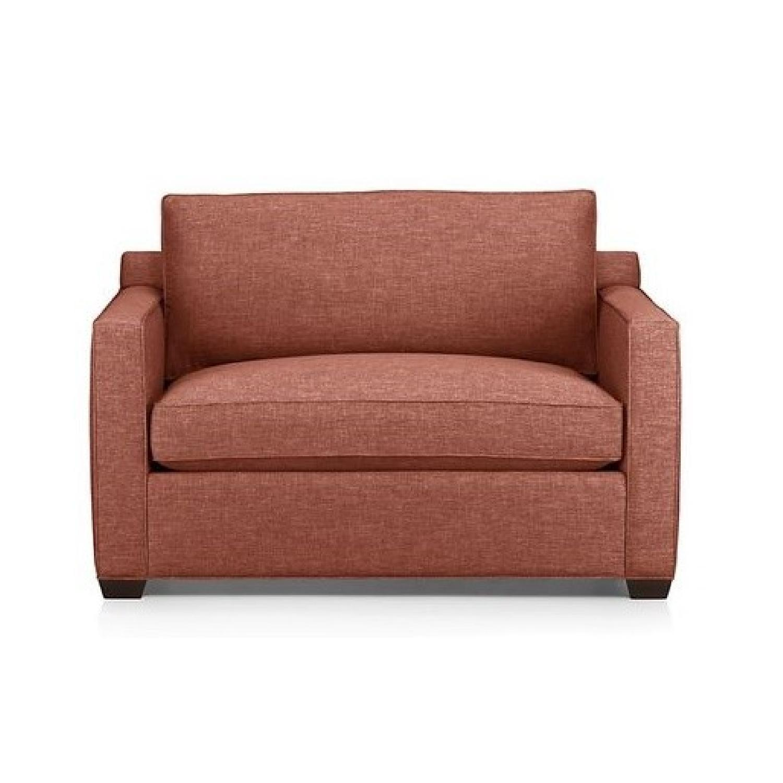 Crate & Barrel Twin Sleeper Sofa