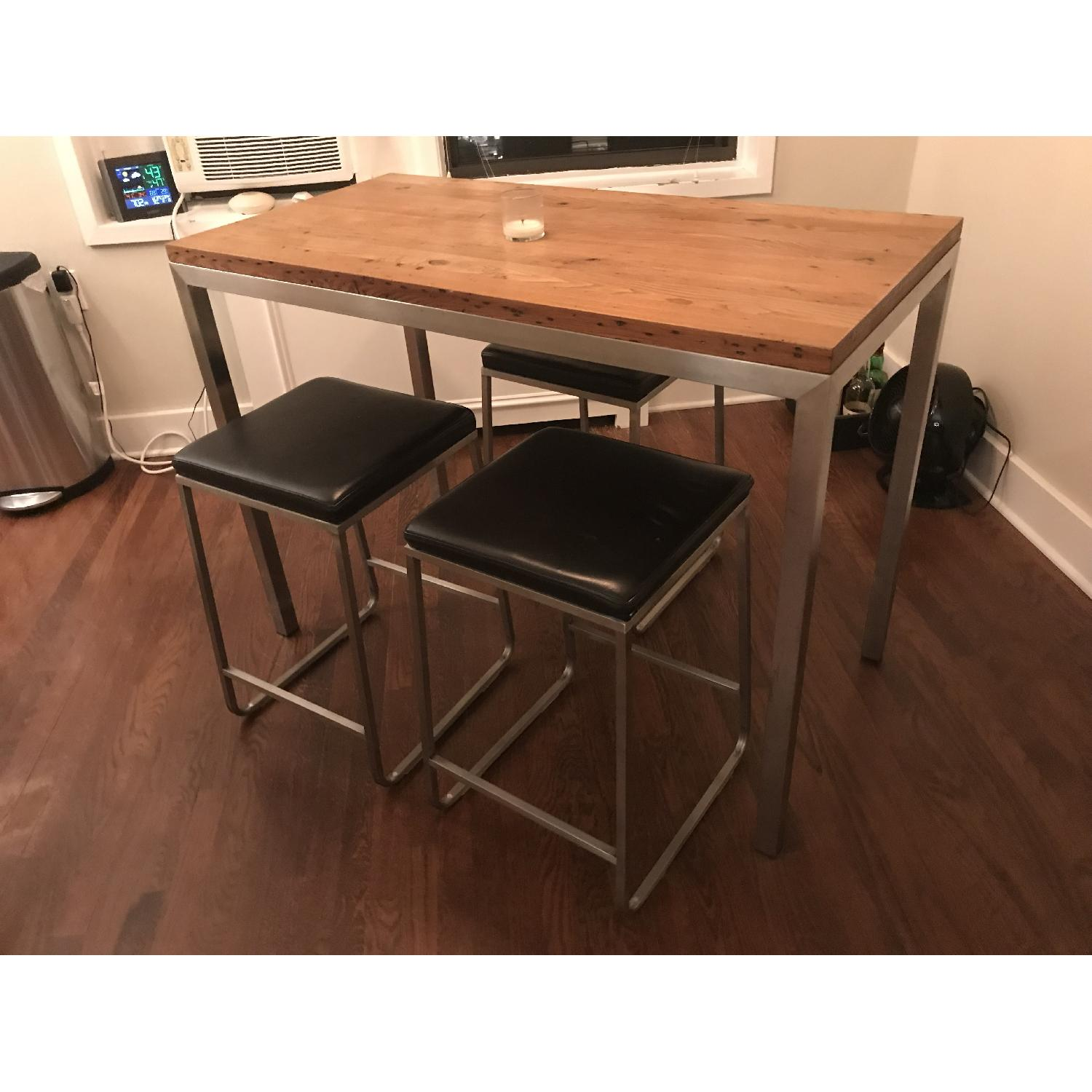 Room & Board Counter Height Dining Table w/ 3 Stools-0