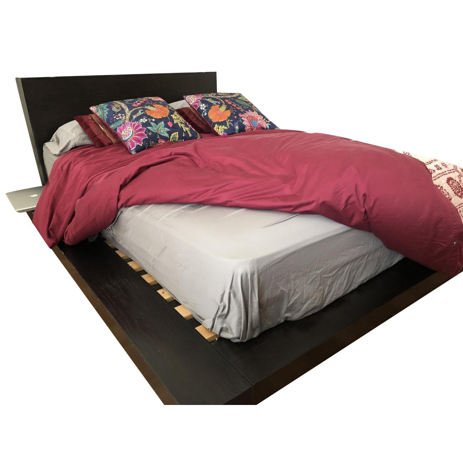 West Elm Platform Bed Frame w/ Headboard