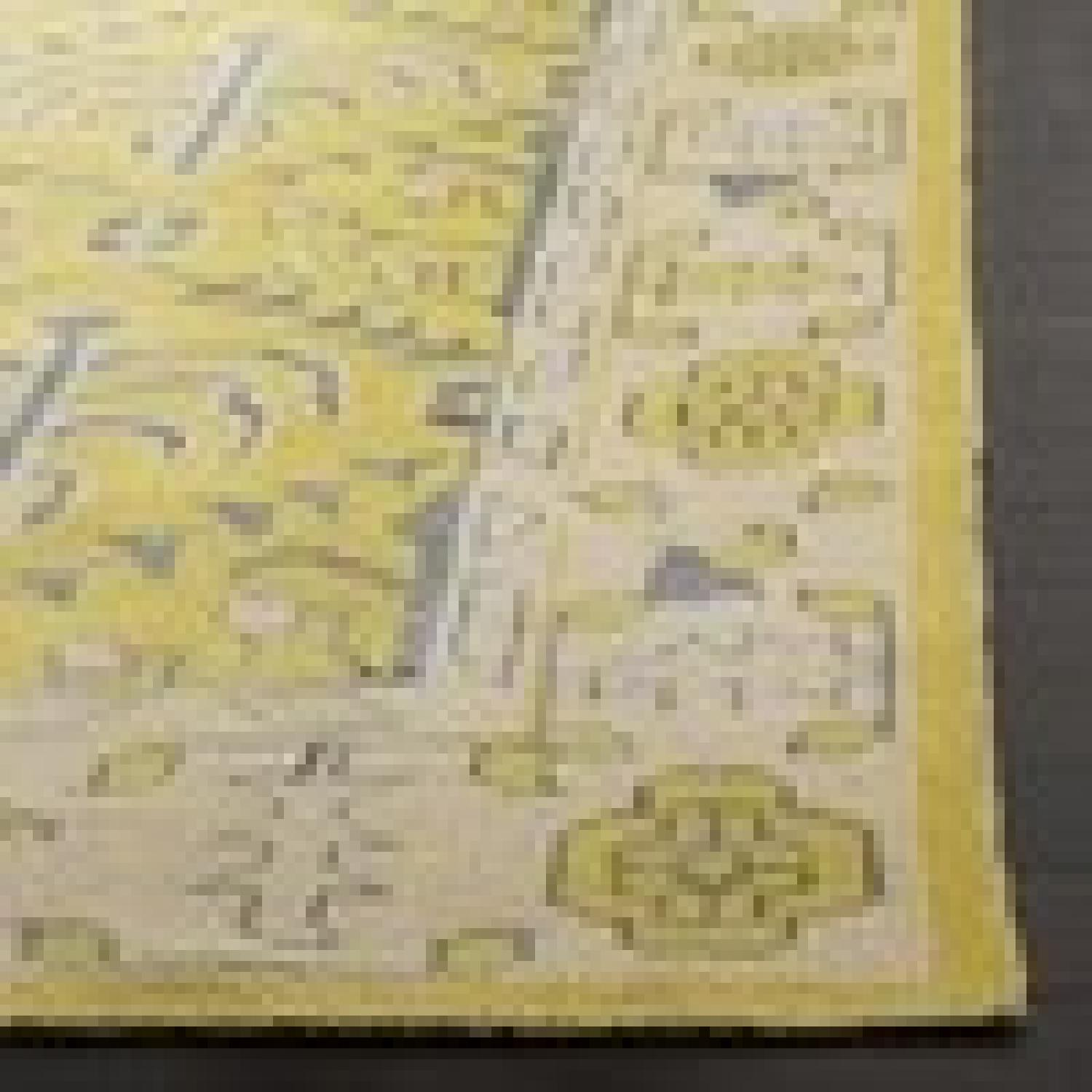 Safavieh Hand-Knotted Stone Wash Yellow Wool & Cotton Rug-1