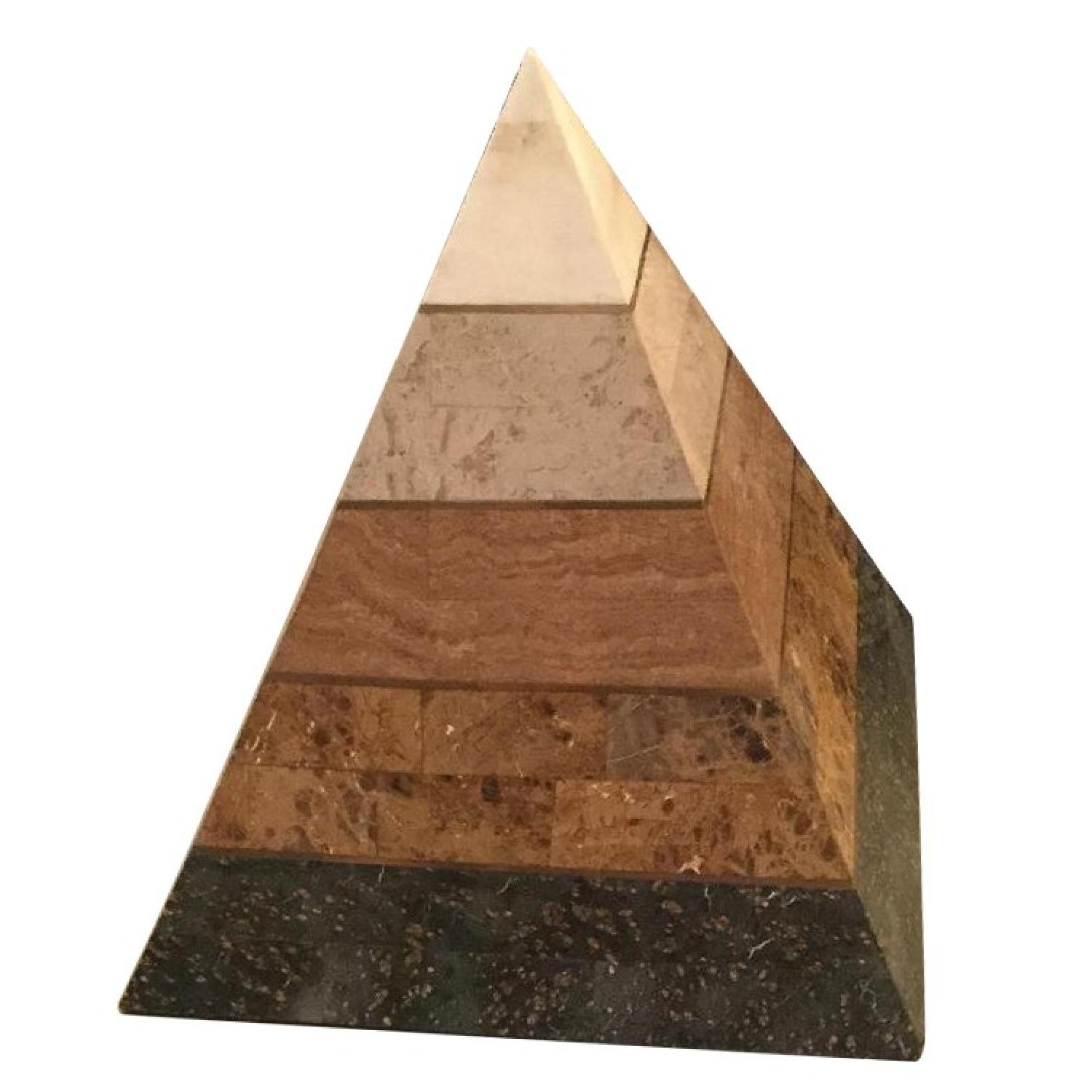 Kelly Wearstler Marble Pyramid