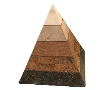 Kelly Wearstler Marble Pyramid