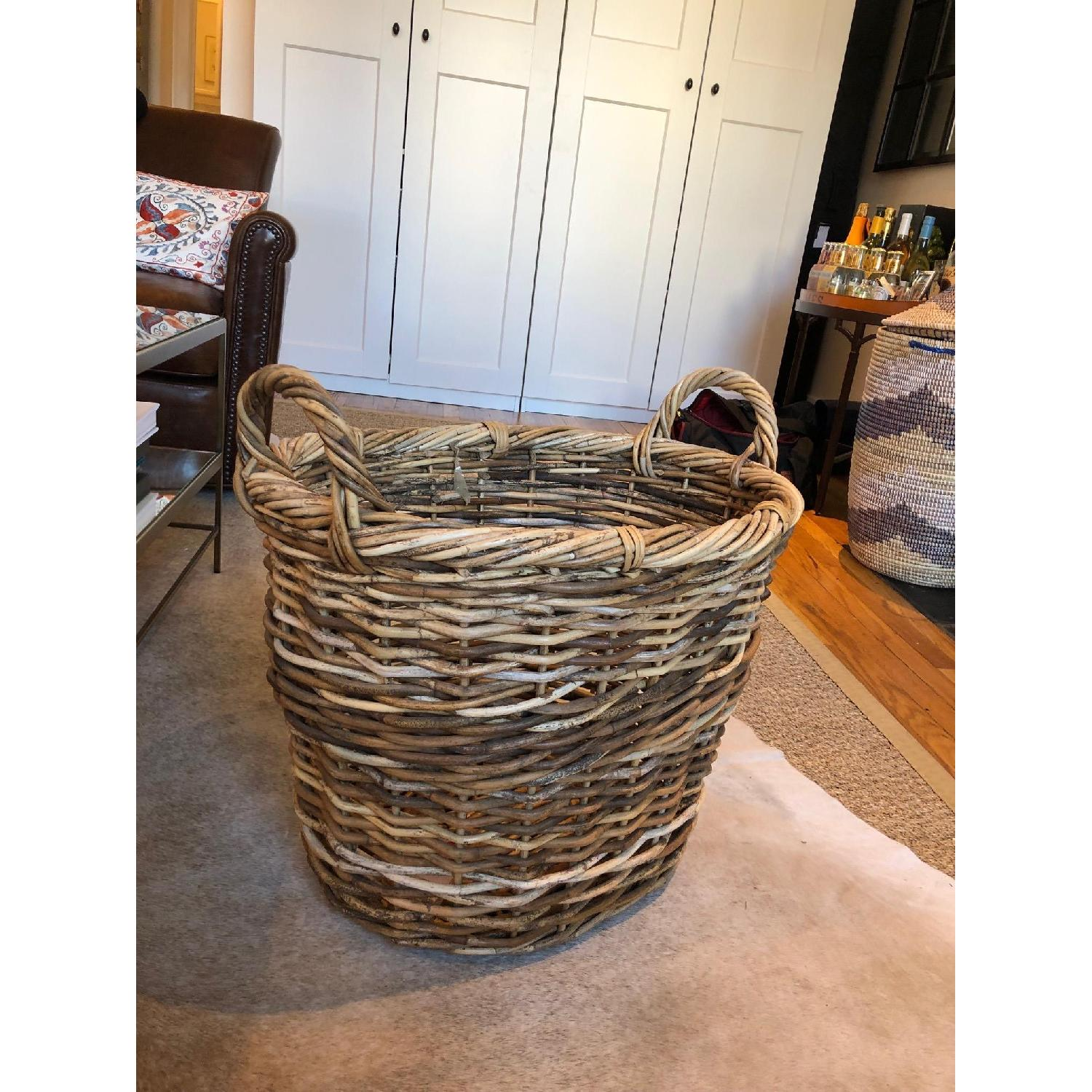 One Kings Lane Dakota Blanket Basket-0