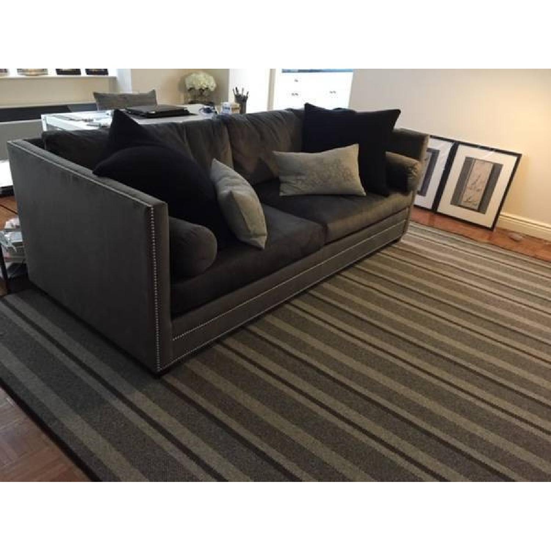 ABC Carpet and Home Grey Stripes Rug-1