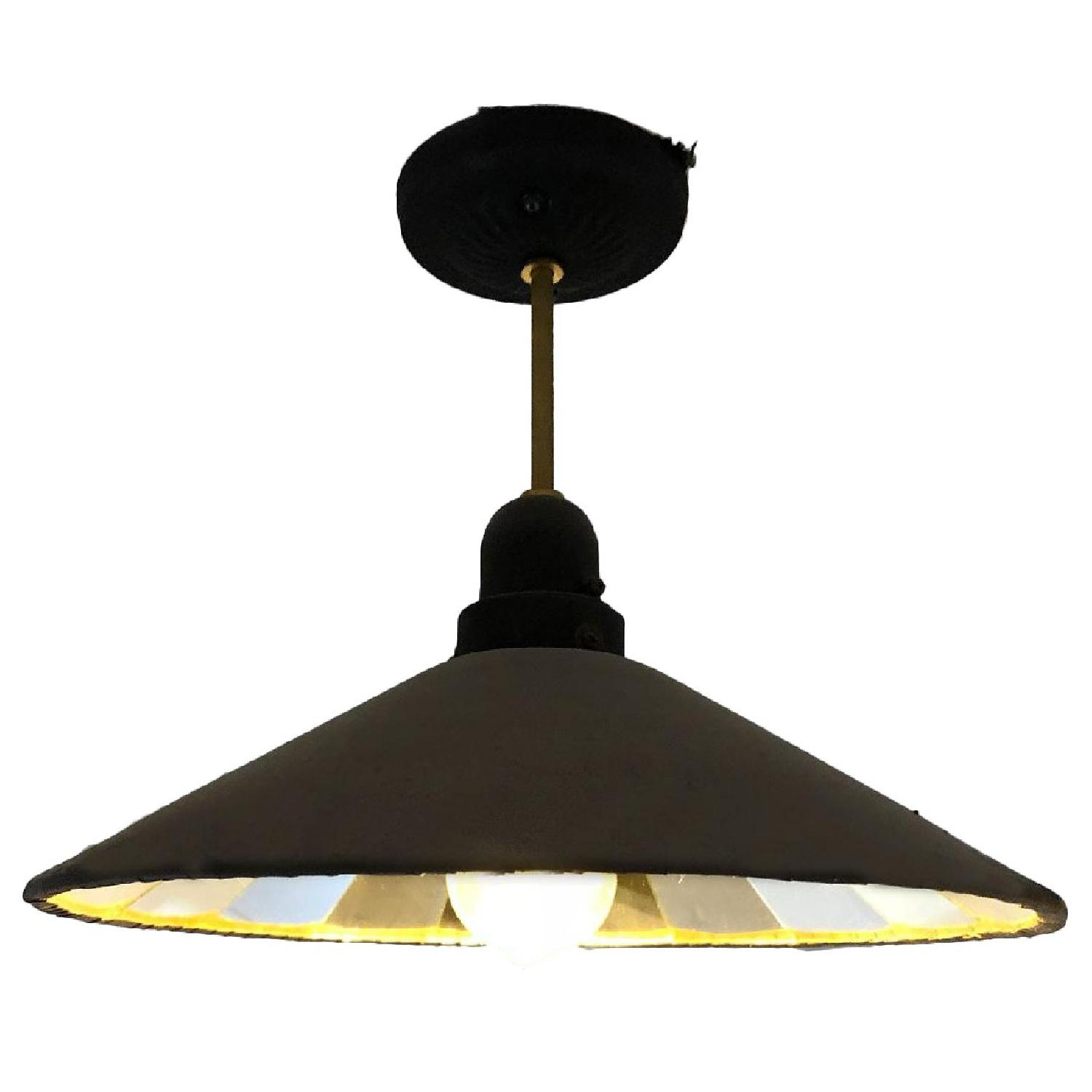 ABC Carpet and Home Industrial Style Pendant Light