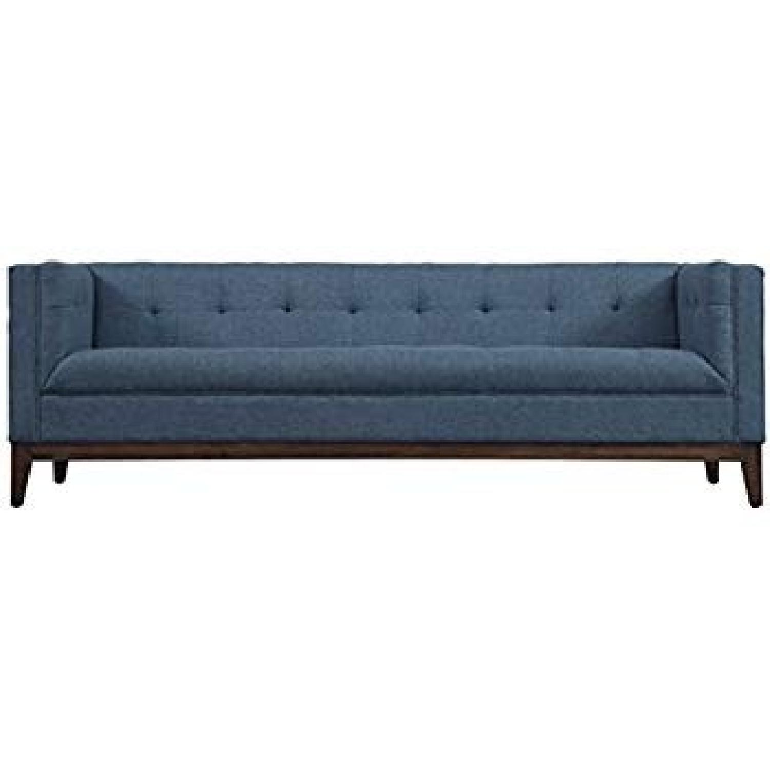TOV Furniture Gavin Mid-Century Modern Fabric Sofa