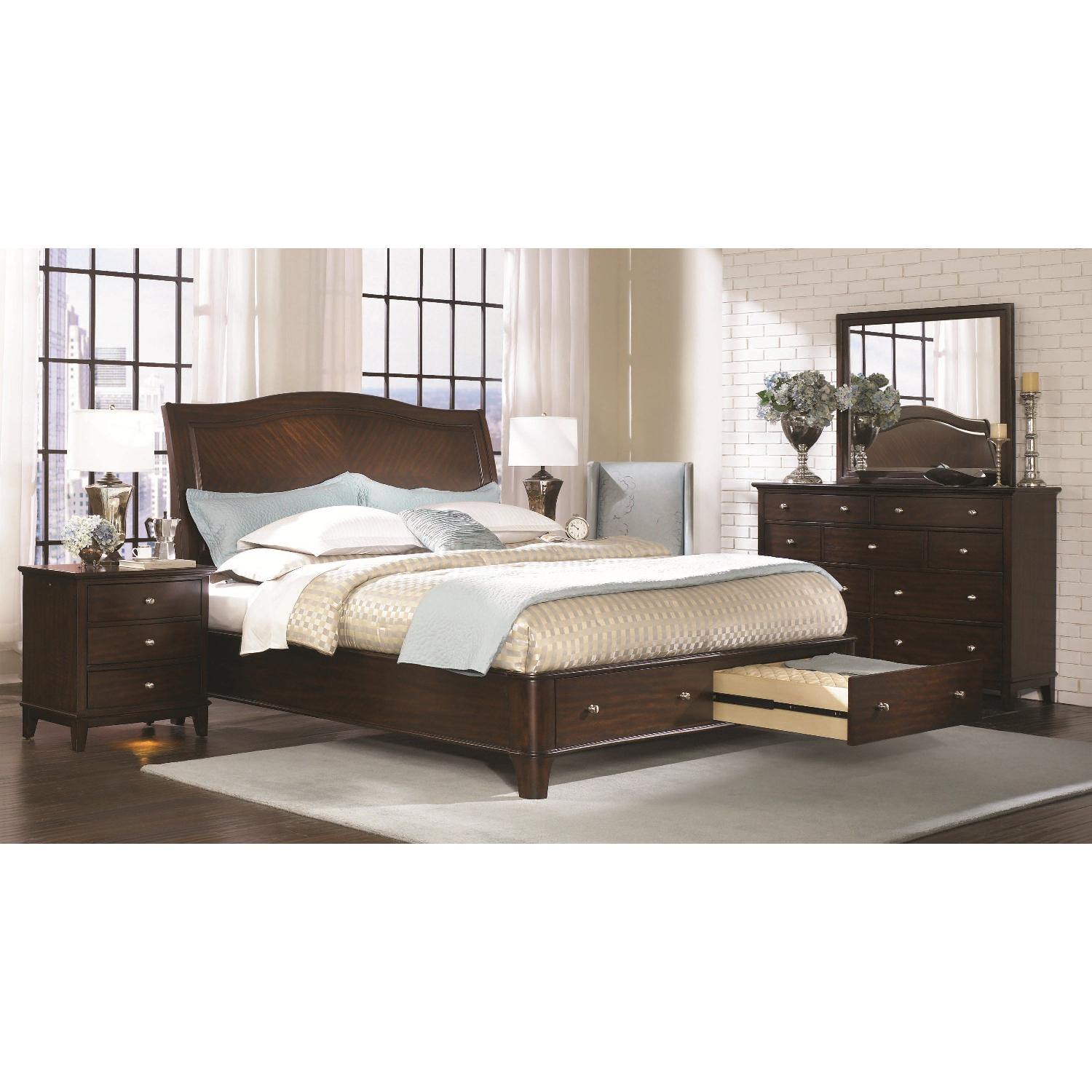 Aspenhome Lincoln Park Queen Sleigh Bed w/ Storage-4