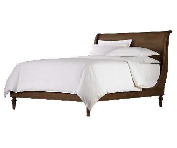 Restoration Hardware Empire Rosette Queen Bed