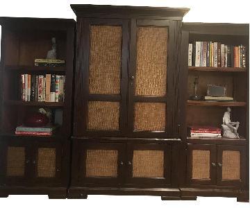 Media/Bookcase Wall Unit