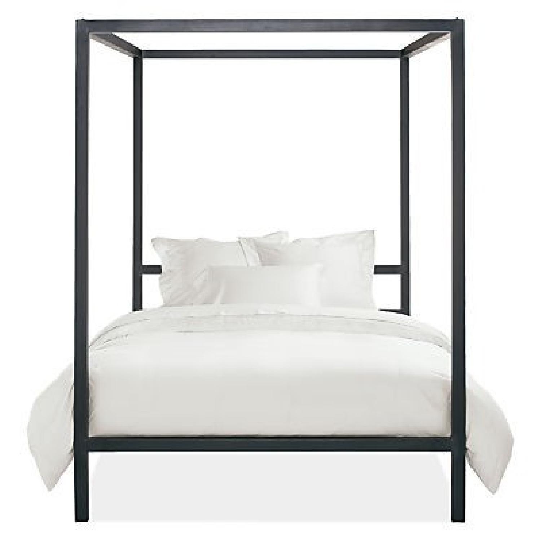 Room & Board King Steel Canopy Bed