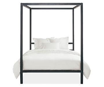 Room & Board King Steel Canopy Bed