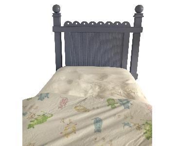 Scott Jordan Maine Cottage Twin Bed in Iris Blue