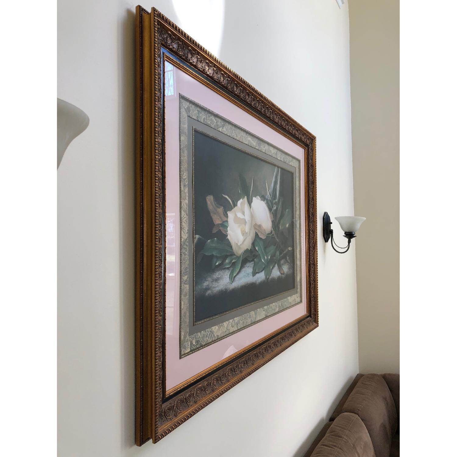 Fortunoff Roses Print in Gold Frame-0