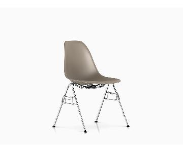 Herman Miller Eames Molded Plastic Stackable Chair