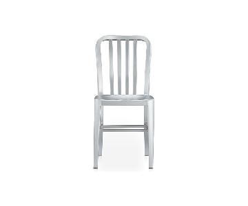 Crate & Barrel Aluminum Dining Chairs